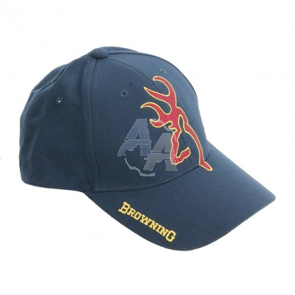 Casquette Browning snapshot bleue