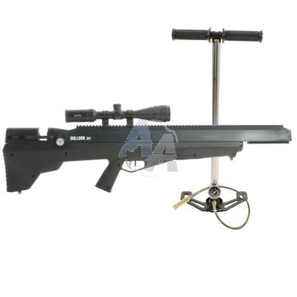 Pack carabine PCP Benjamin Bulldog .357 Combo