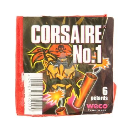 6 pétards Weco Corsaires n°1