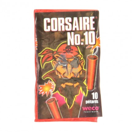 10 pétards Weco Corsaire n°10