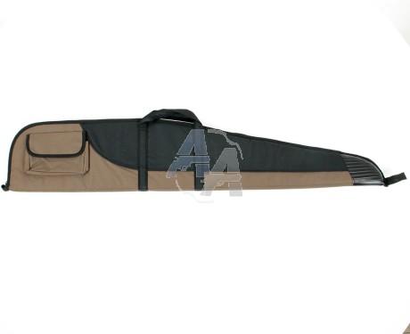 Housse pour carabine marron / noire 120 cm