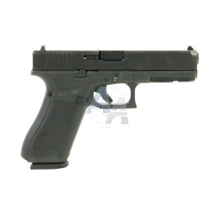 Pistolet Glock 17 Gen 5 Front Serrations, calibre 9x19 mm