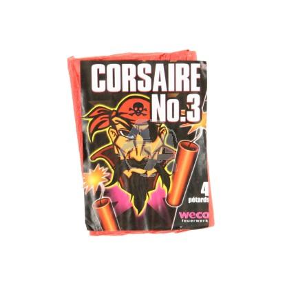 4 pétards Corsaire n°3 Weco