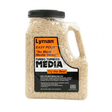 Bidon de media Lyman Untreated Corncob