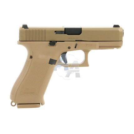 Pistolet Glock 19X calibre 9x19 mm, canon au choix