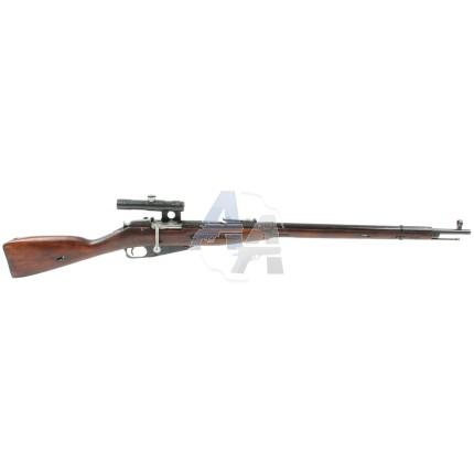 Fusil Mosin Nagant Sniper M91/30, calibre 7.62x54R