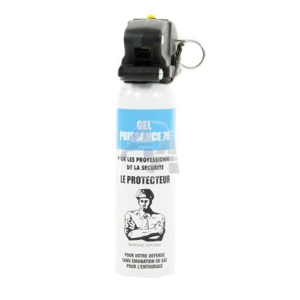 Bombe de défense Le Protecteur CS Gel 70, 100 ml
