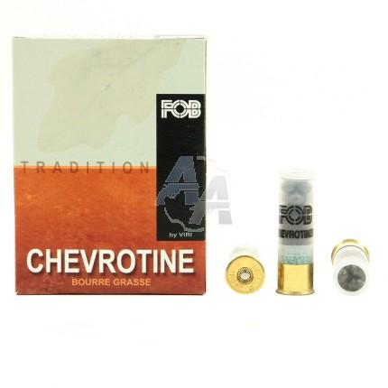 10 chevrotines FOB tradition 9 grains, calibre 16/67