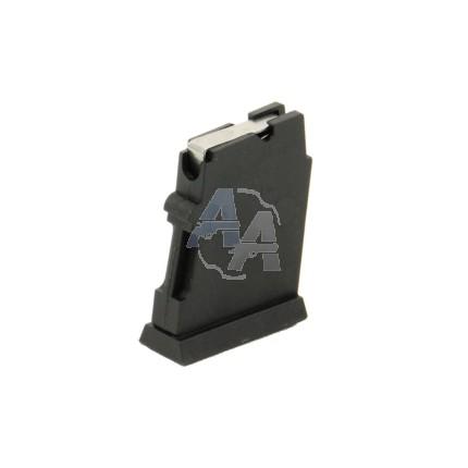 Chargeur 5 coups polymère .22 LR pour CZ 452/453/455