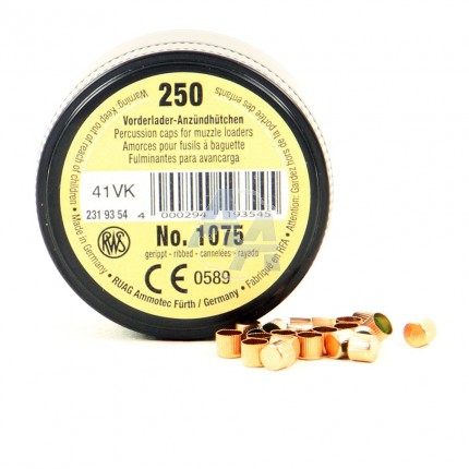 250 amorces RWS 1075
