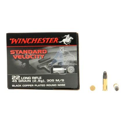 235 munitions Winchester Standard Velocity .22 LR