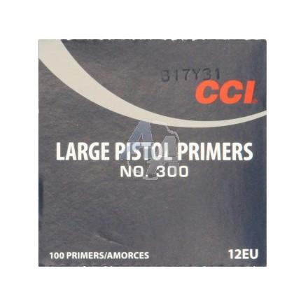 100 Amorces CCI 300 Large Pistol