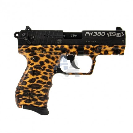 Pistolet à blanc Walther PK380 Cheetah, cal. 9mm PAK