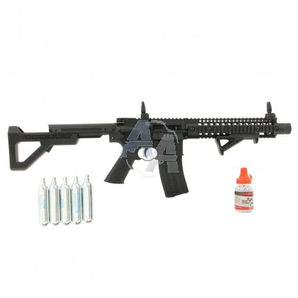 Pack Crosman DPMS SBR Full auto 4.5 mm BB