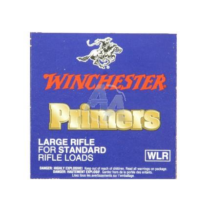 100 amorces Winchester Large Rifle