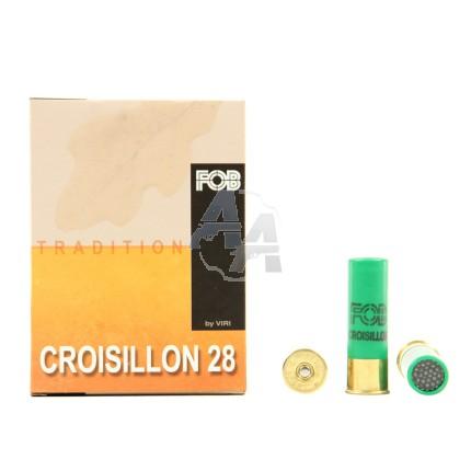 10 cartouches FOB croisillon 28 calibre 16/65
