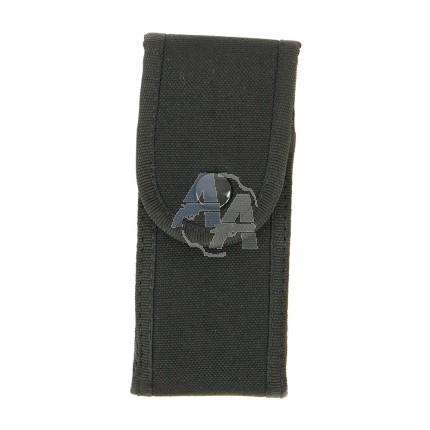 Étui à couteau Cordura noir Pielcu 13 cm large