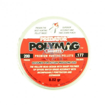 200 plombs Predator Polymag Shorts, 4.5 mm