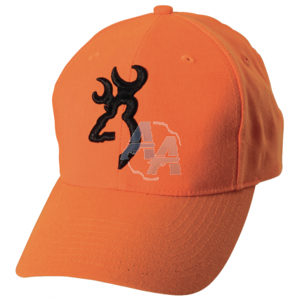 Casquette Browning safety 3D orange fluo