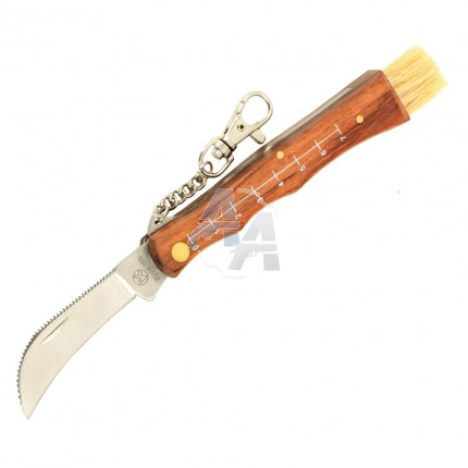 Couteau à champignons Herbertz avec mousqueton
