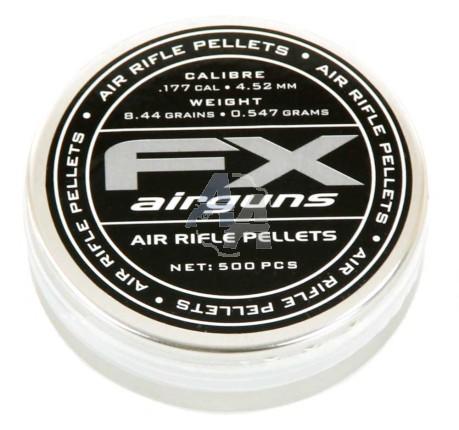500 plombs Fx Airguns, 4,5 mm