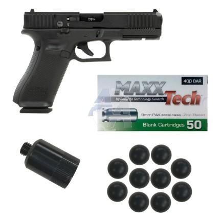 Pistolet Umarex Glock 17 Gen 5, pack défense