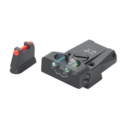 Hausse + guidon LPA pour CZ75 / CZ85, fibre optique