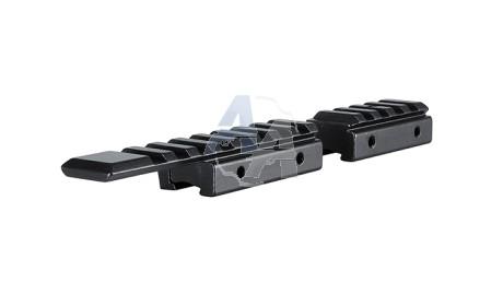 Adaptateur Hawke pour rail de 11 mm vers rail picatinny