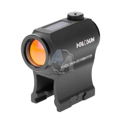 Viseur point rouge Holosun HS403C 2 MOA