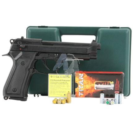 Pack pistolet Kimar 92 auto noir