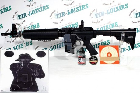 Crosman M4-177, pack carabine à plombs