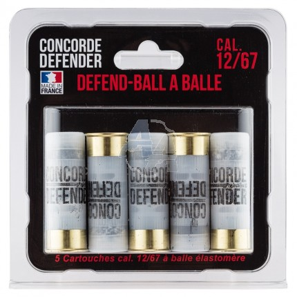 5 munitions Concorde Defender Defend Ball 12/67