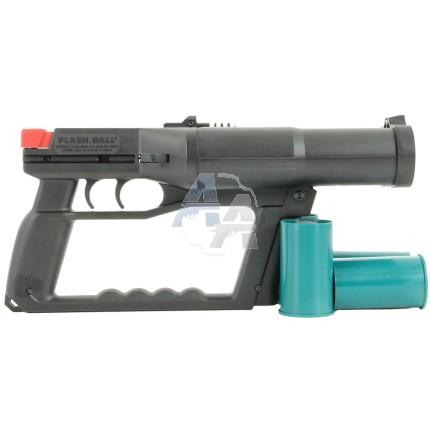 Pistolet Flash Ball + 8 munitions