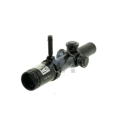 Lunette Bushnell AR 1-4x24 mm à réticule lumineux