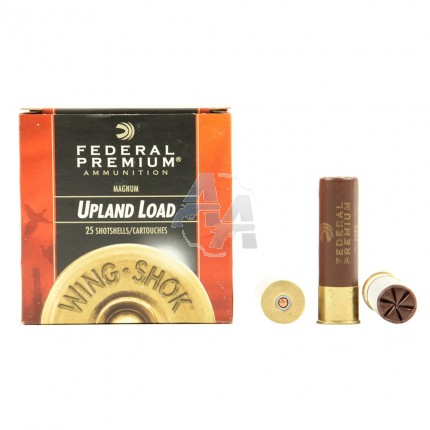 25 munitions Federal Upland Load, calibre 10/89