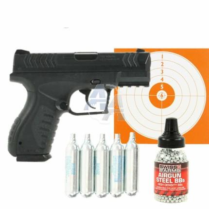 Pack pistolet à billes d'acier Umarex XBG 4.5 mm