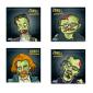 100 cibles ASG Zombie Nation 14x14 cm