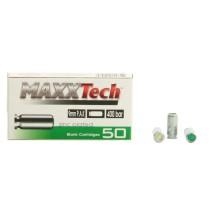 50 munitions à blanc MaxxTech 9 mm PAK