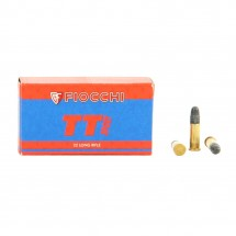 50 munitions Fiocchi TT Sport calibre .22 LR
