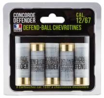 5 cartouches Concorde Defender mini defend-ball 12/67
