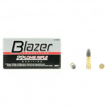 50 Munitions Blazer CCI, calibre 22 LR
