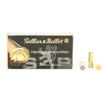 50 munitions Sellier & Bellot .38 SPL Wad Cutter
