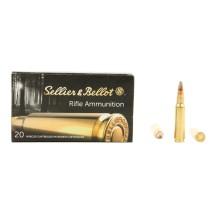 20 munitions Sellier & Bellot SPCE 150 gr, cal .308