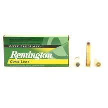 20 munitions Remington Core-Lokt, calibre .444 Marlin