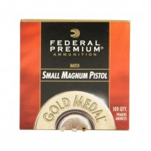 100 amorces Federal Premium Small Magnum Pistol