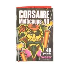 Petard corsaire Weco Multicoups 40