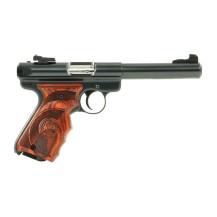 Pistolet Ruger Mark III bronzé poignée Target, cal .22 LR