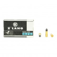 50 munitions RWS Z Lang calibre .22 LR