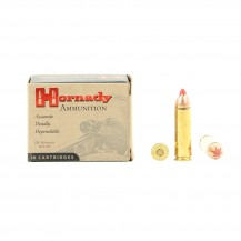 20 munitions Hornady FTX 300 Grs, cal.500 S&W Mag
