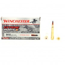 20 munitions Winchester Extreme Point 150 gr .300 Win Mag